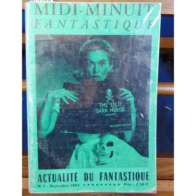 : Midi-Minuit fantastique . N°7 septembre 1963...