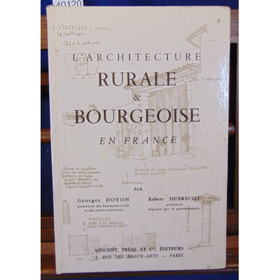 Doyon  : L'architecture rurale & bourgeoise en France...