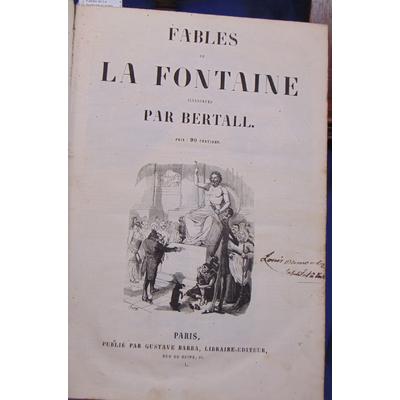 : Fables de La Fontaine illustrés par Bertall/ Don Quichotte / Physiologie del'amour (Bertall) Les Célibatai