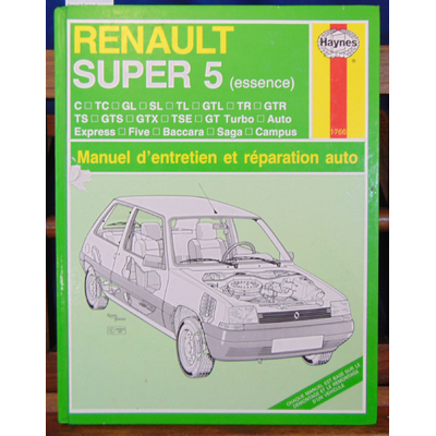 Legg  : Renault Super 5 essence...