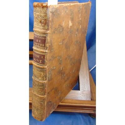 Boyer  : Dictionnaire royal Français - Anglais. tome 1 (manque Tome 2 Anglais Français )...