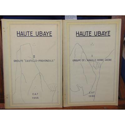 : Escalade Haute Ubaye. Groupe de l'aiguille Pierre André  / Castello-Provenzale...