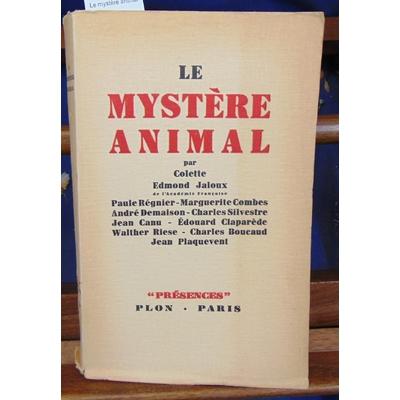 Colette  : Le mystère animal...