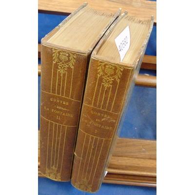 : Contes de La fontaine publiés par D. Jouaust (1 des 20 sur papier Whatman )...