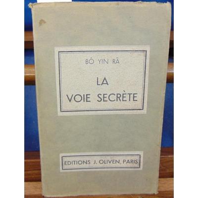 BO Yin  : La voie secrète...