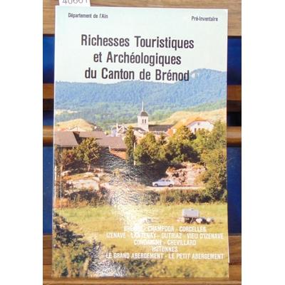 Collectif  : Richesses touristiques et archéologiques du canton de Brenod...