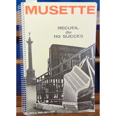 : Musette. Recueil de 110 succes...