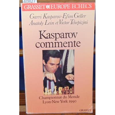 Kasparov Garry : Kasparov commente championnat du monde 90...