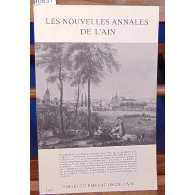 : Les nouvelles annales de l'Ain. 1986...