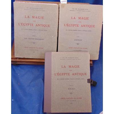 Lexa  : La magie dans l'Egypte Antique. complet des 3 volumes...