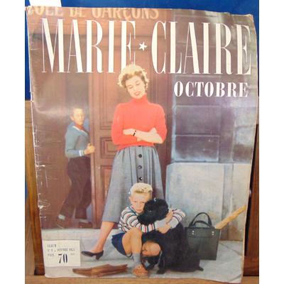: Marie-Claire N°1 Année Octobre 1954...