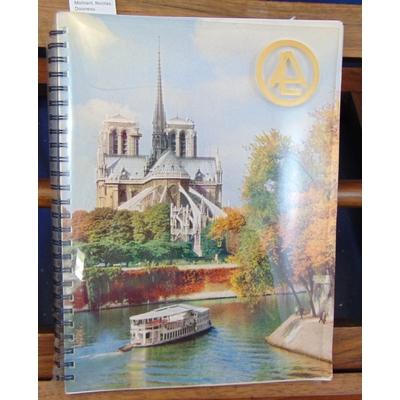 : Agenda de Paris 1957 (photos de Molinard, Nicolas, Doisneau...