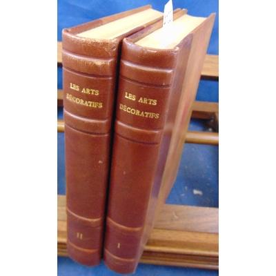 Divers  : Les arts décoratifs de l'antiquité au XIX ème siècle. 11 volumes reliés en 2...
