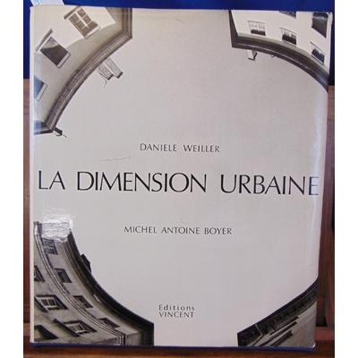Weiller Daniele, BOYER : La dimension urbaine...