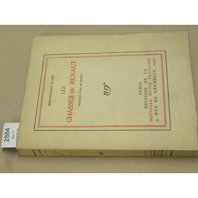 Bloch (jean : Les chasses de Renaut (deuxième livre de contes)...