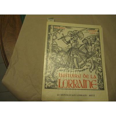 Jean Morette : histoire de la Lorraine (3e album)...