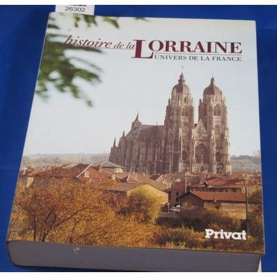 Parisse  B : Histoire de la Lorraine ...