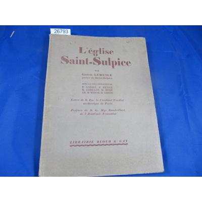 Lemesle : L'église Saint-Sulpice...