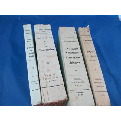 GASC-DESFOSSES : La révolution Française (4 volumes)...