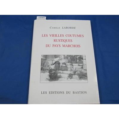 Laborde Camille : Essai sur les vieilles coutumes rustiques du pays marchois. la naissance et le baptème...