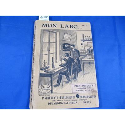 collectif : Mon Labo, nomenclature alphabétiques de tous les instruments  de précision du laboratoire oenologi
