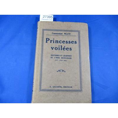 Pilate : Princesses voilées...