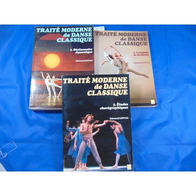 Linval : traité de danse classique (complet des 3 volumes)...
