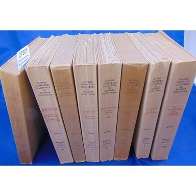 courteline : Oeuvres complètes illustrées par Joseph Hémard. 8 Volumes complets. I: Les gaités de l'Escadron.