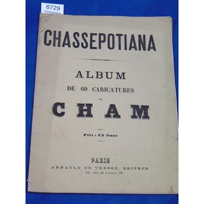 CHAM : Chassepotiana. album de 60 caricatures  par Cham...