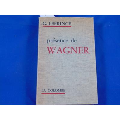Leprince : Présence de Wagner...