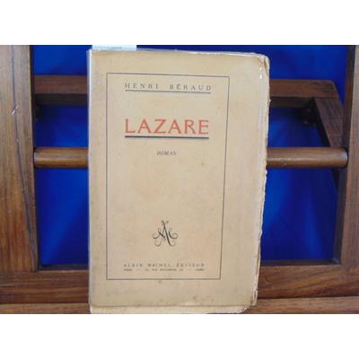 Béraud Henri : Lazare...