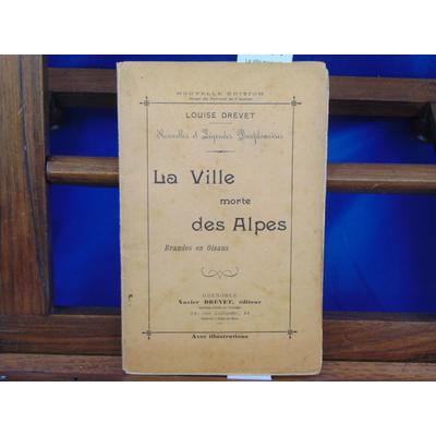 Drevet Louise : La ville morte des Alpes Brandes en Oisans...