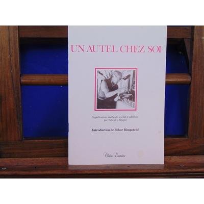 Sèngué Tcheuky : Un autel chez soi. Signification, méthode, adresses...