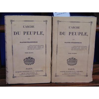 Platon-Polichinelle  : L'arche du peuple...