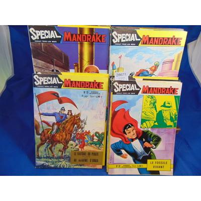 collectif  : Lot Spécial Mandrake 15  N° :  67-68-69-70-71-72-73-74-75-76-77-78-79-80-81...