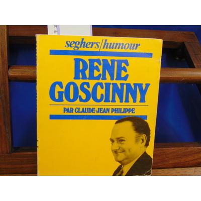 Philippe claude-jean : René Goscinny...
