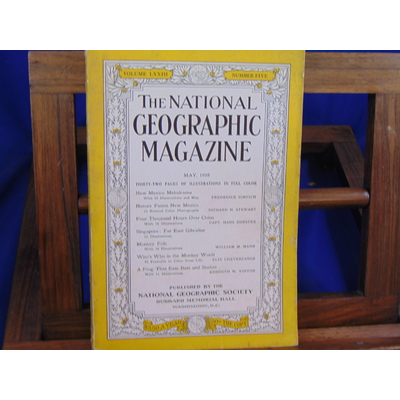 collectif  : The National geographic Magazine January 1938 (volume LXXIII N°1)...