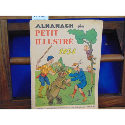 collectif  : Almanach du petit illustré 1934...