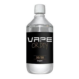 Bases 50%VG, 50% Propylene