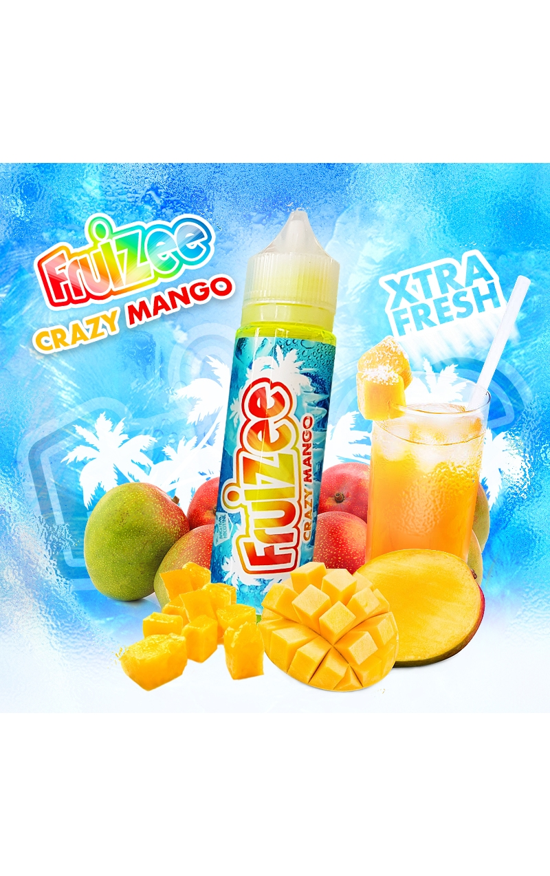 FRUIZEE CRAZY MANGO KING SIZE - 50ML