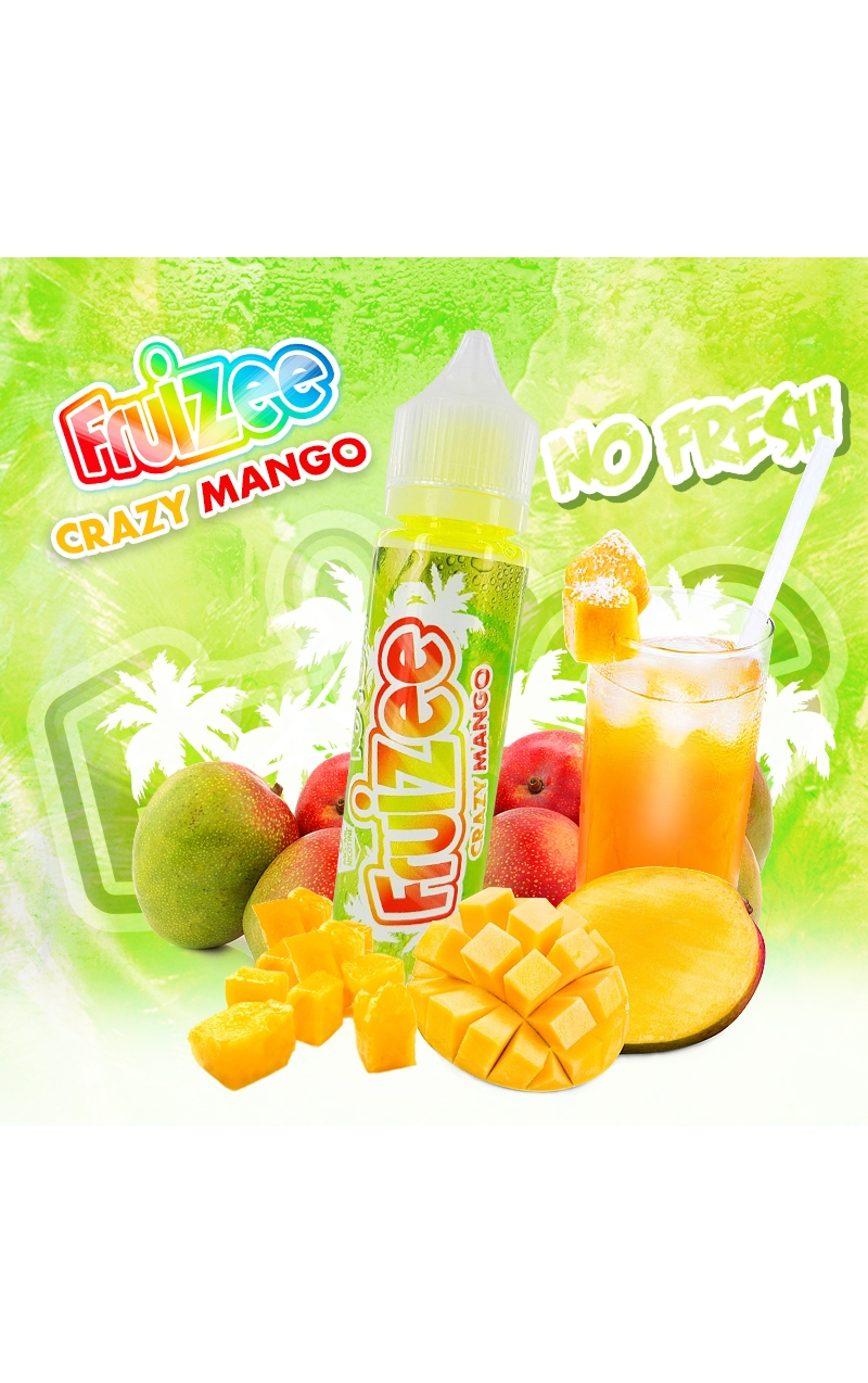 FRUIZEE CRAZY MANGO NO FRESH KING SIZE - 50ML