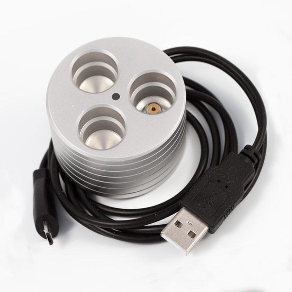 Support métal cigarette électronique avec chargeur