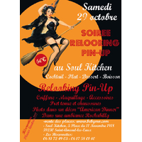 """SOIREE RELOOKING PIN UP SPECIALE """"HALLOWEEN"""" 29 OCTOBRE 2016"""