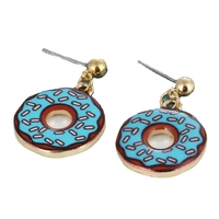 boucles donuts blue