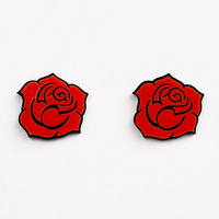 Boucles red roses