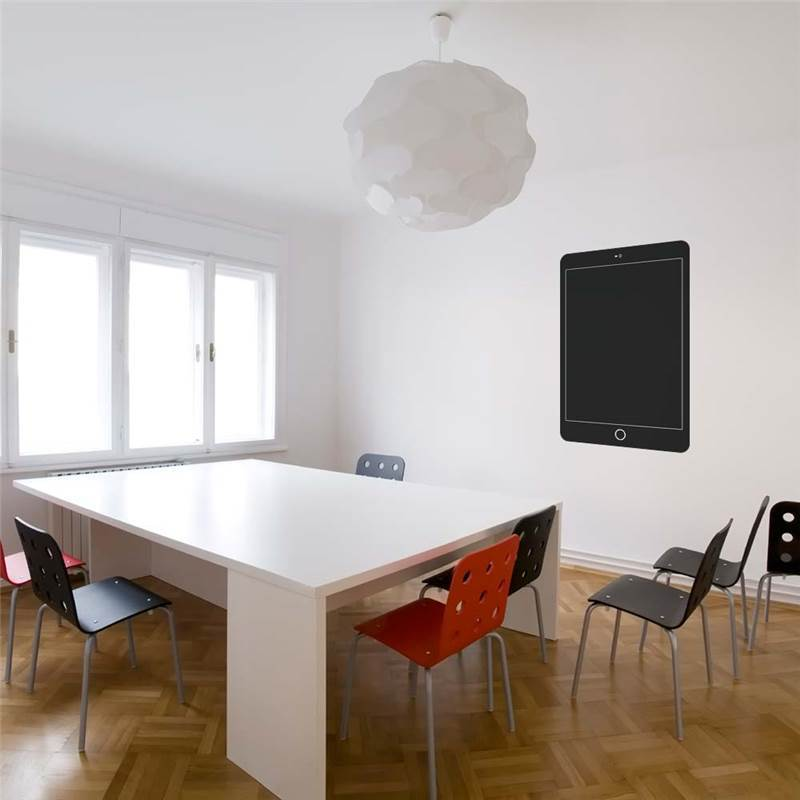 ipad mini autocollant en ardoise. Black Bedroom Furniture Sets. Home Design Ideas