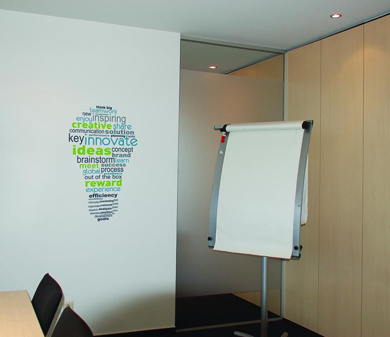 Stickers Id E Pour Salle De Brainstorming En Entreprise