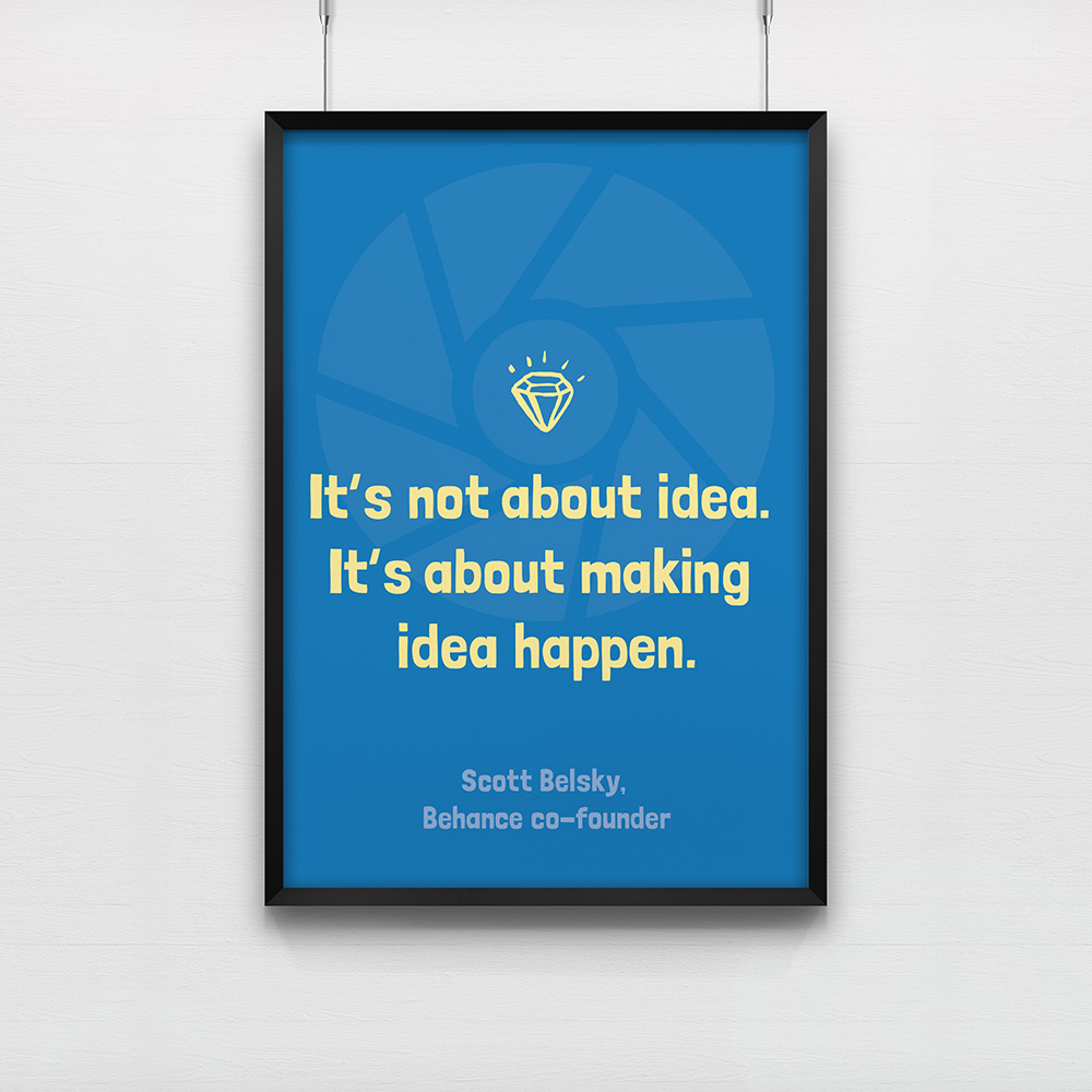 Poster It\'s not about idea
