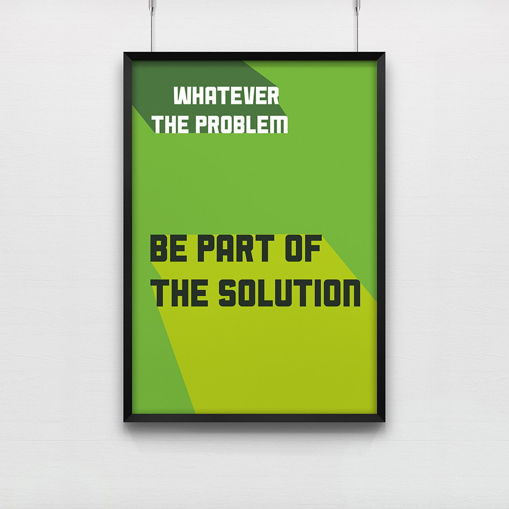 Poster Whatever the problem