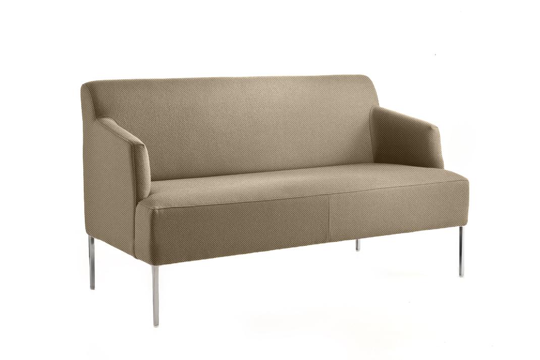 canap beige pour accueil bureau espace d tente. Black Bedroom Furniture Sets. Home Design Ideas